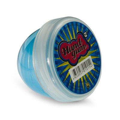 """Жвачка для рук """"ТМ HandGum"""", цвет: голубой, с запахом сгущеного молока, 70 г"""