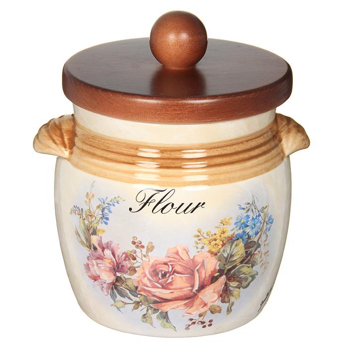 """Банка для продуктов LCS Элианто """"Flour"""" 0,75 л LCS670MLF-EL-AL"""