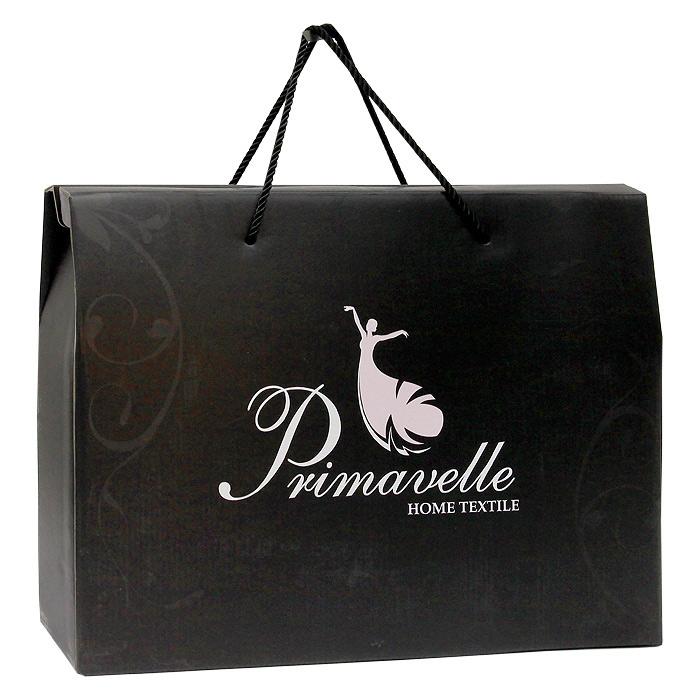 "Плед шелковый ""Primavelle"", цвет: шоколадный, 170 см х 205 см"