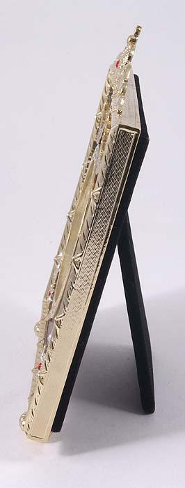 Фоторамка. Металл, эмаль, австрийские кристаллы, 1990-е гг