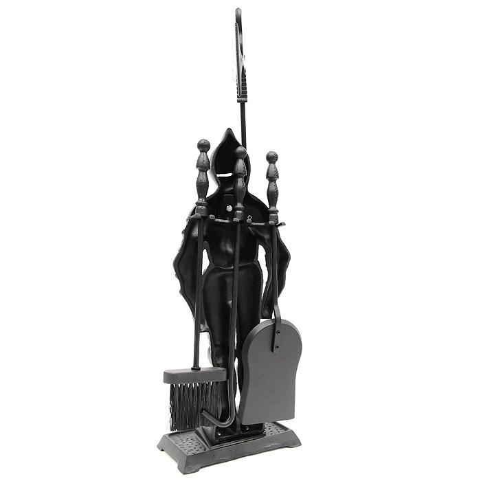 """Набор для камина """"Рыцарь"""", 4 предмета"""