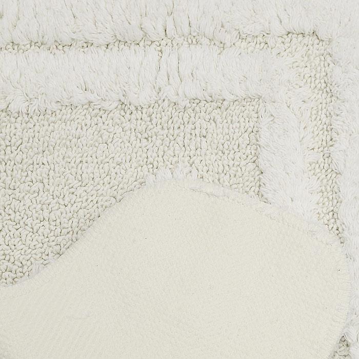 """Коврик для туалета """"Escargot"""", цвет: светло-бежевый, 50 x 50 см"""