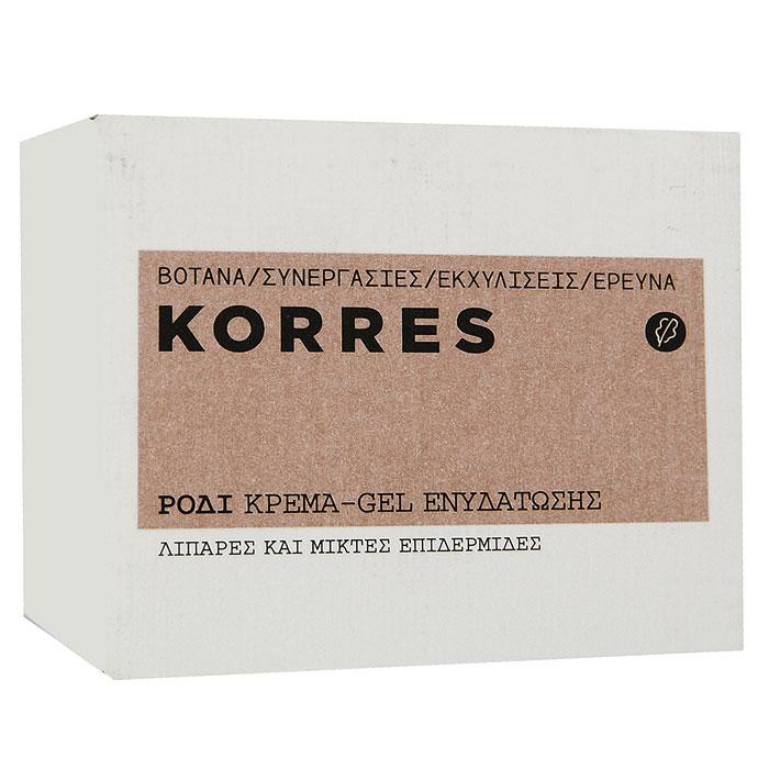 Korres Крем-гель для лица, увлажняющий, с гранатом, для жирной и комбинированной кожи, 40 мл