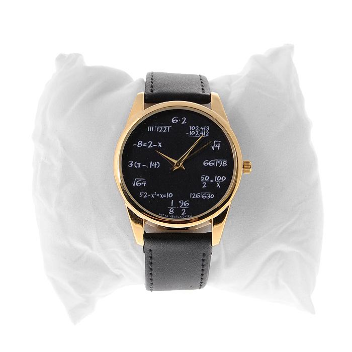 Часы Mitya Veselkov Грифельная доска. Gold-32