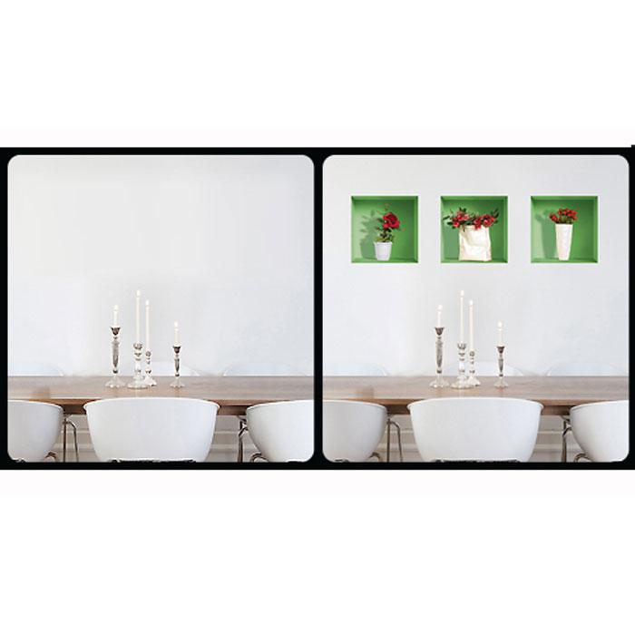 """Украшение для стен и предметов интерьера с 3D эффектом """"Букеты роз №2"""""""