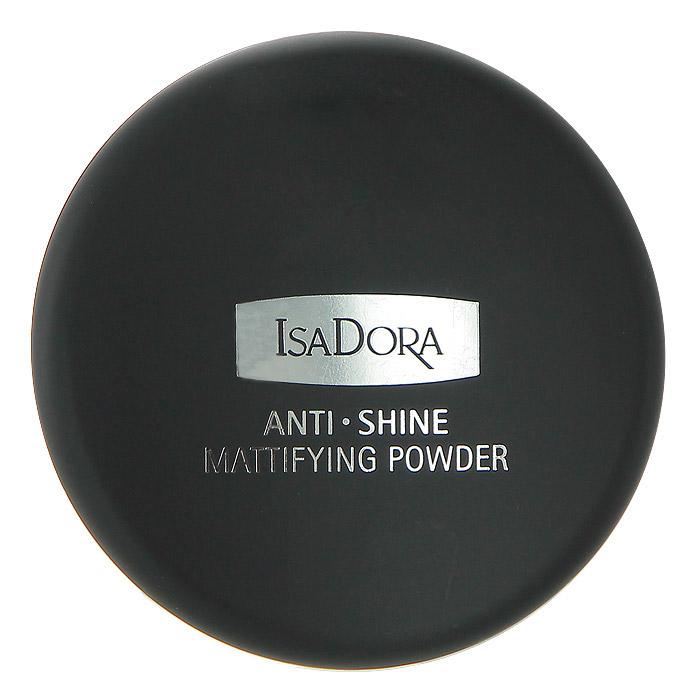 Isa Dora Компактная пудра Anti Shine, матирующая, тон №30, цвет: матовый светлый, 10 г