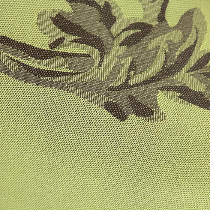 """Гардина """"Schaefer"""" на петлях, цвет: зеленый, 140 х 245 см ( 06471-596 )"""
