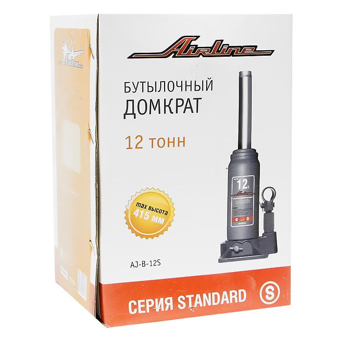 Домкрат бутылочный Airline AJ-B-12S, 12 т