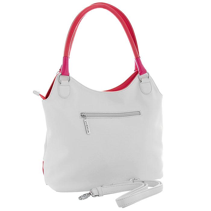"""Сумка женская """"Leighton"""", цвет: белый, розовый. 580244 ( 580244-082/101/082/27/349 )"""