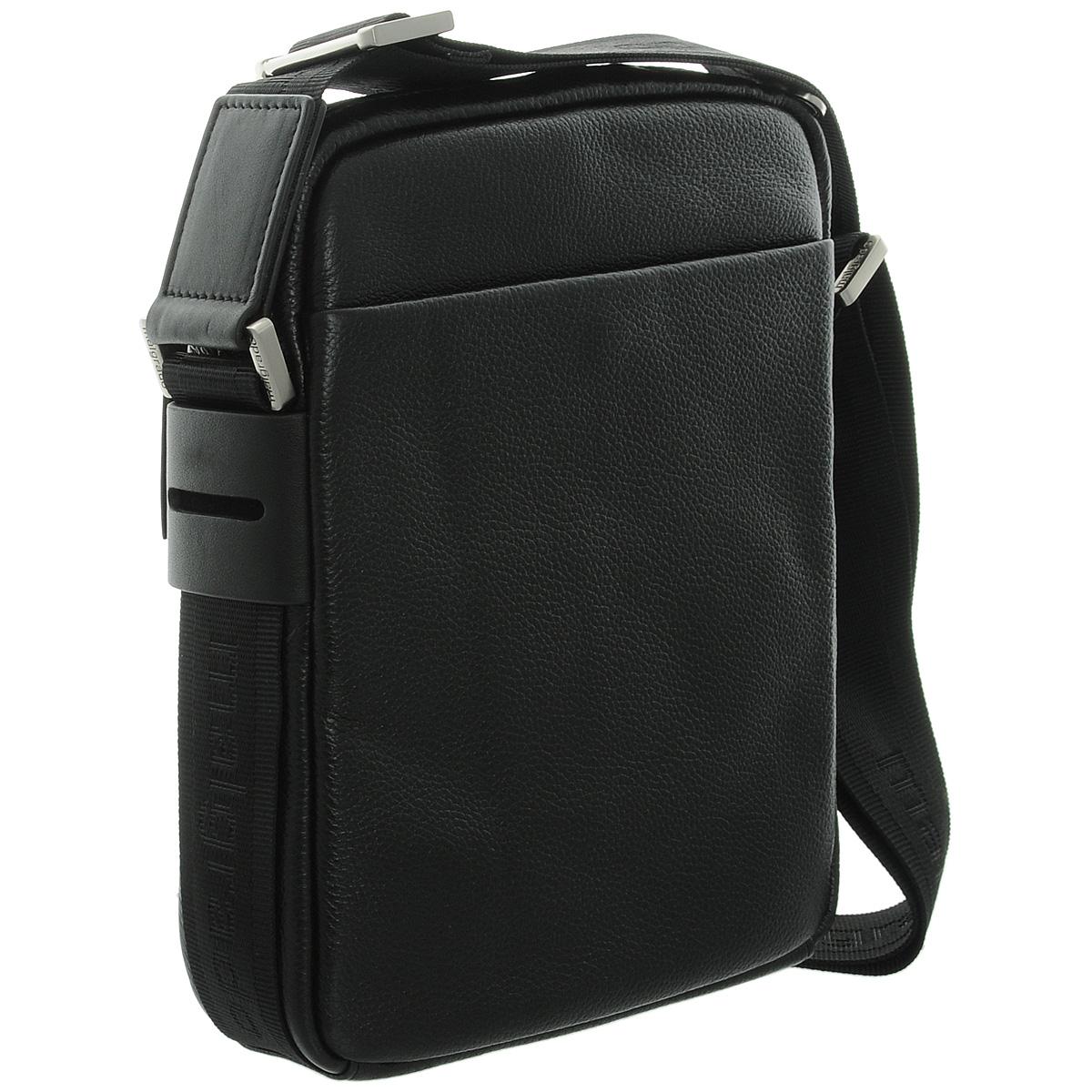 Сумка мужская Malgrado, цвет: черный. BR12-412C1856 ( BR12-412C1856 black сумка мужская Malgrado )