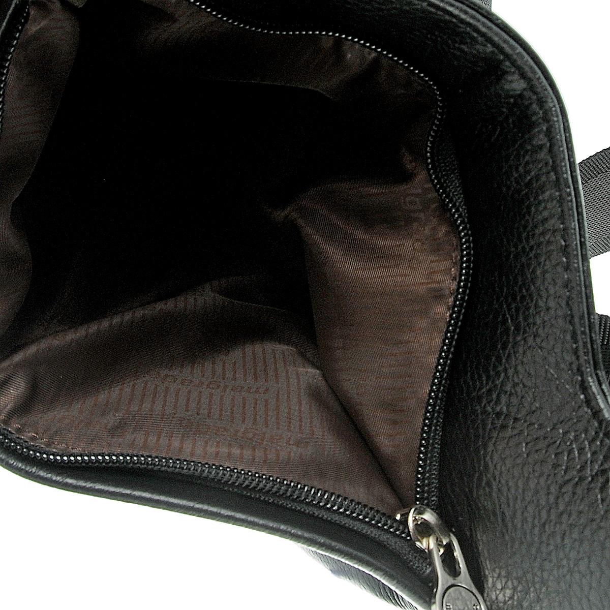 """Cумка мужская """"Malgrado"""", цвет: черный. BR11-365C1530 ( BR11-365C1530 black Cумка мужская Malgrado )"""