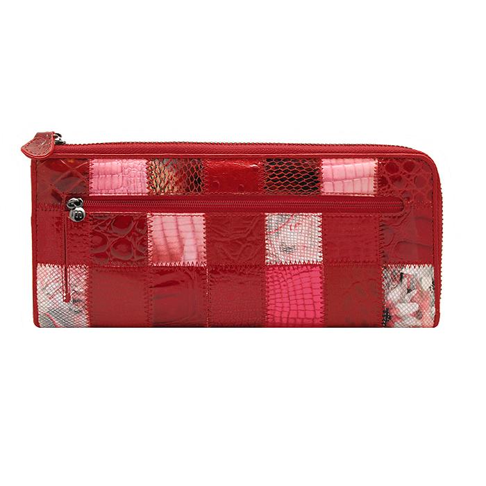 """Кошелек """"Malgrado"""", цвет: красный. 91003A-444A ( 91003A-444A )"""