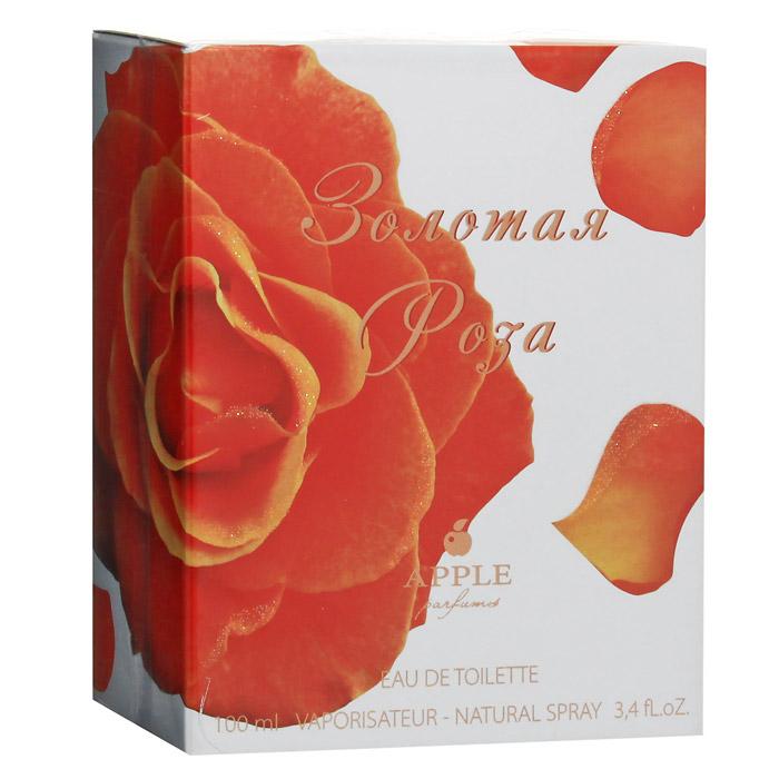 Apple Золотая роза. Туалетная вода, 100 мл (Apple Parfums)