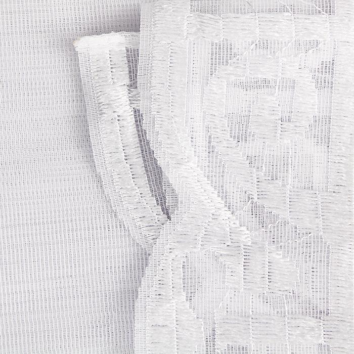 "Гардина ""Weranika"", на ленте, цвет: белый, 600 см х 150 см ( 524839 )"