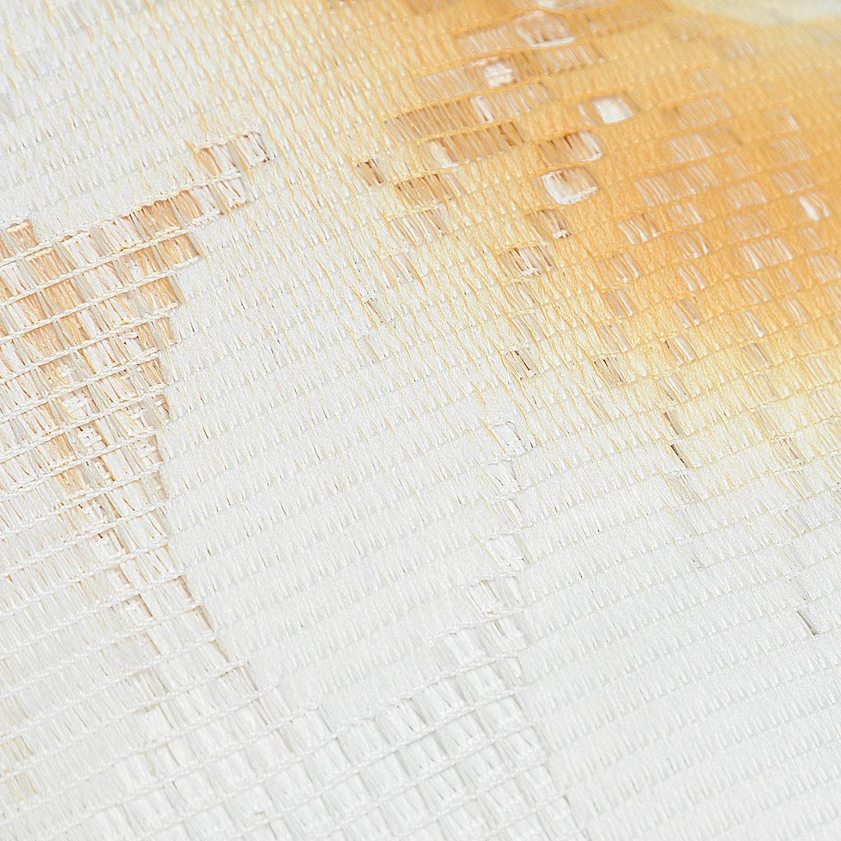 """Комплект штор """"Aurelia"""", на ленте, цвет: бежевый, белый, высота 250 см ( 690442 )"""
