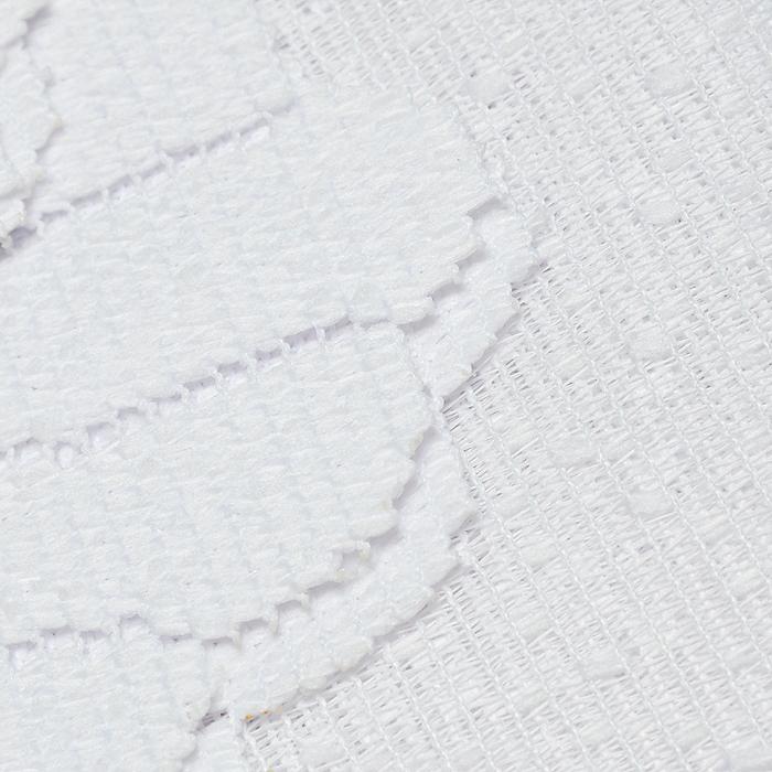 """Гардина """"Ewa"""", цвет: белый, высота 150 см ( 446803 )"""