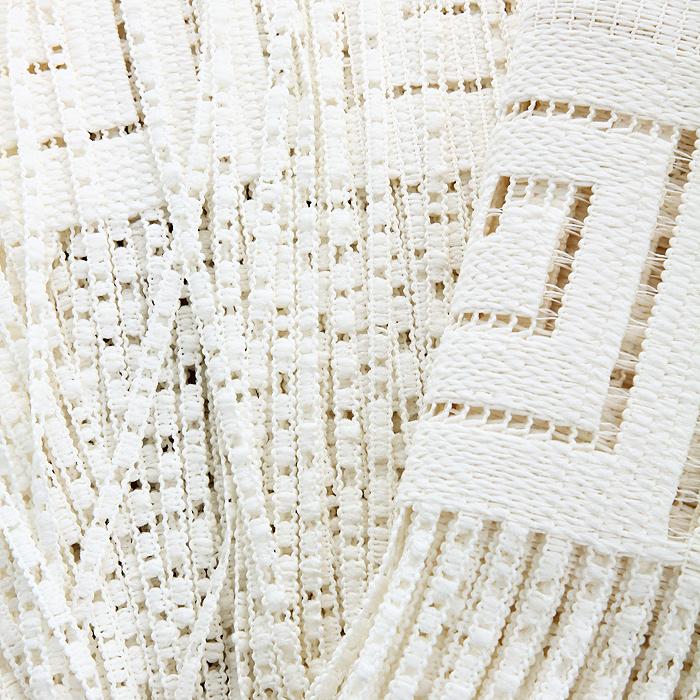 """Гардина-лапша """"Ira"""", на кулиске, цвет: кремовый, высота 160 см ( 663354 )"""