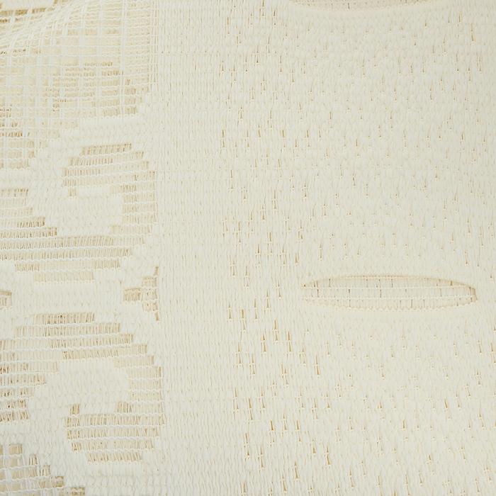 """Гардина-лапша """"Wisan"""", на петлях, цвет: молочный, высота 160 см ( 716210 )"""