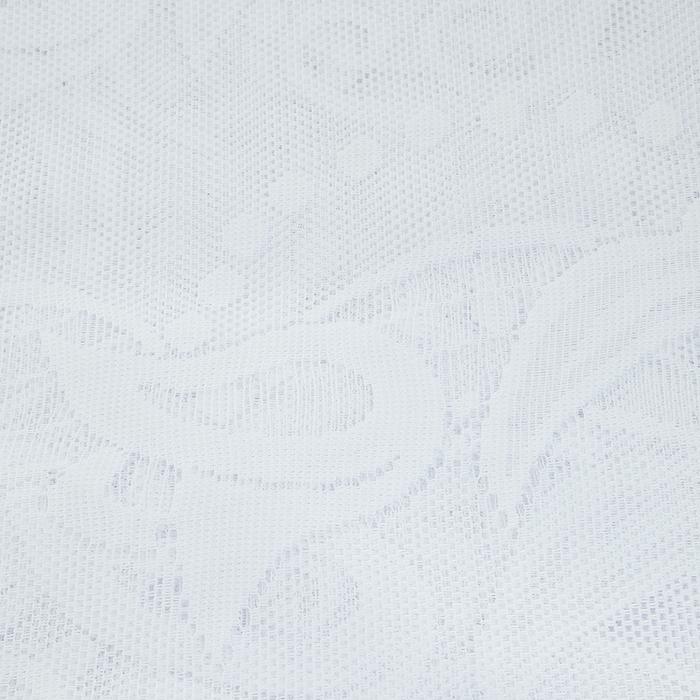 """Гардина """"Justi"""", цвет: белый, высота 150 см ( 680573 )"""