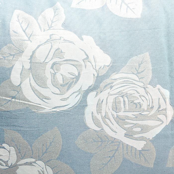"Подушка ""Rosalia"", цвет: голубой, 68 х 68 см"