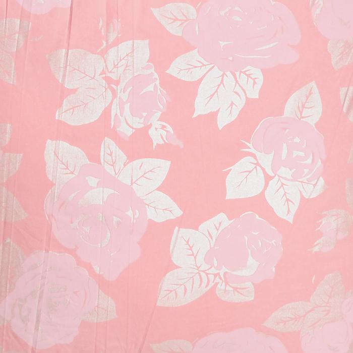 """Подушка """"Лебяжий пух"""", наполнитель: полиэстер, цвет: розовый, 68 х 68 см"""