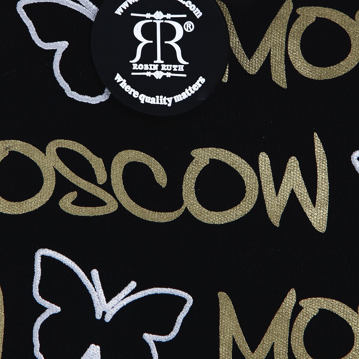 """Сумка женская Robin Ruth """"Moscow"""", цвет: черный. BR003-H ( BR003-H )"""
