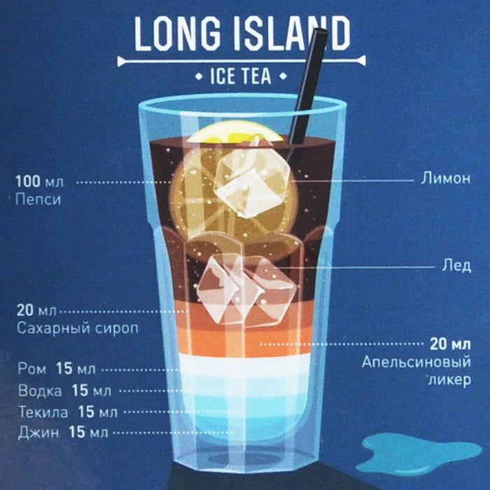 Как сделать коктейль лонг айленд в домашних