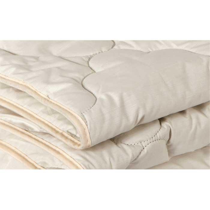 """Одеяло облегченное OL-Tex """"Верблюжья шерсть"""", наполнитель: верблюжья шерсть, цвет: сливочный, 200 х 220 см"""