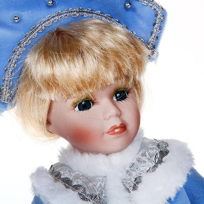 Декоративная керамическая кукла, на подставке, 30 см. 31108