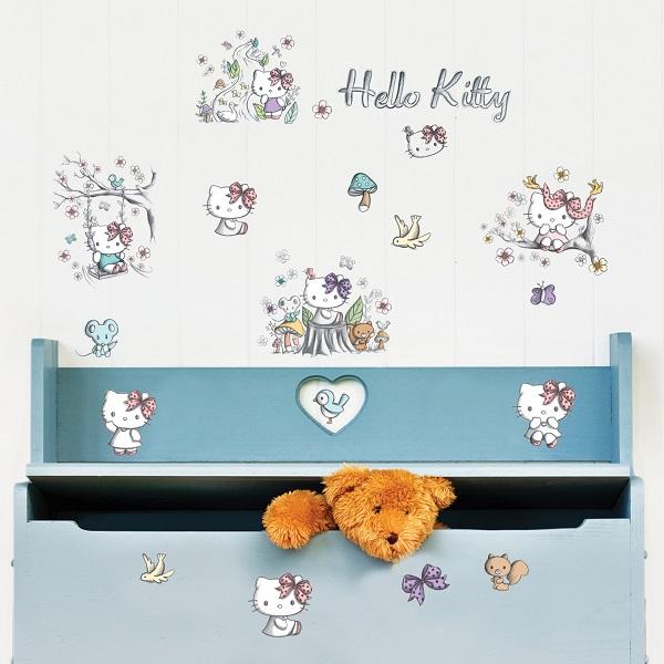 """Украшение для стен и предметов интерьера Decoretto """"Kitty в лесу"""""""
