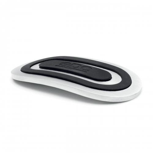 """Накладки на педали Sparco """"Urban"""", алюминиевые, цвет: серебристый, черный, 3 шт, 1/30 ( SPC/PD-URB AL/BK (3) )"""
