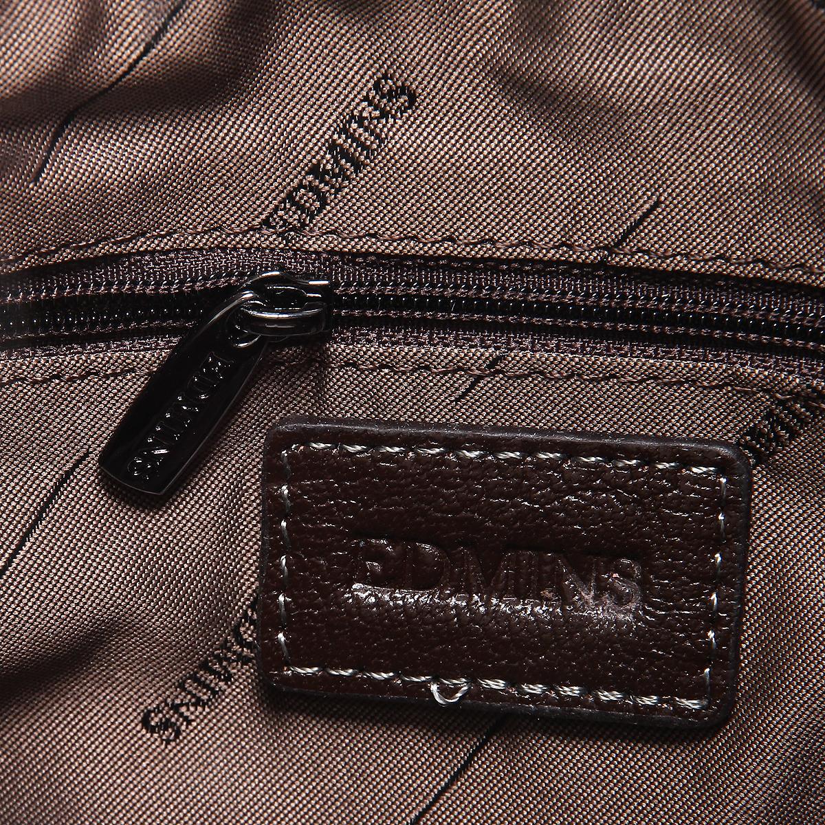 """Сумка мужская """"Edmins"""", цвет: коричневый. 1511B-5 NS d.brown ( 1511B-5 NS d.brown )"""
