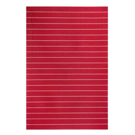 Набор виниловых салфеток для кухни LOKS, цвет: красный, 12 шт. P400-100