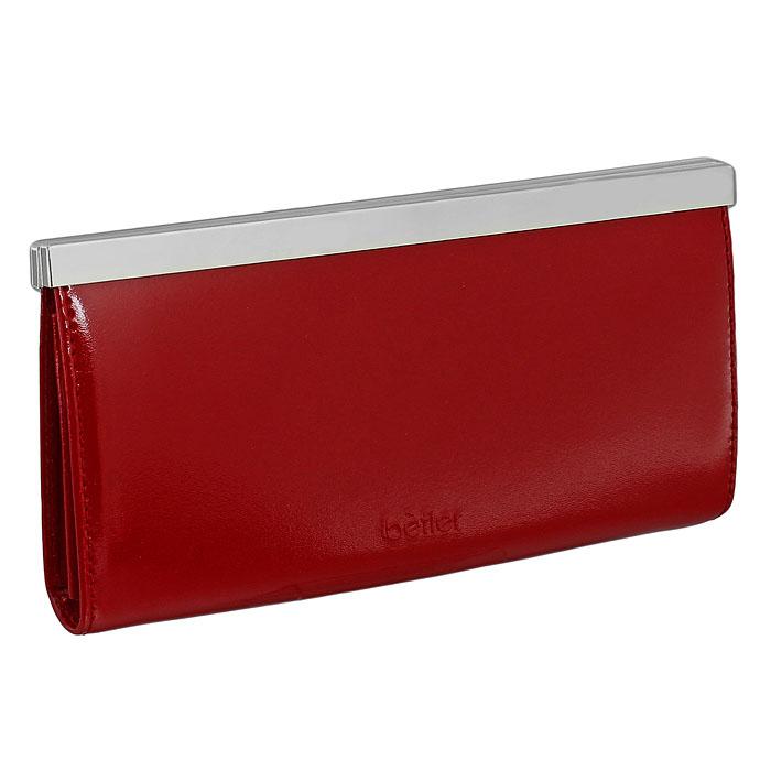 "Подарочный набор ""Befler"": обложка для паспорта, визитница, портмоне, цвет: красный. O.31.-1.red/V.37.-1.red/PJ.37.-1.red ( O.31.re/V.37.re/PJ.37.red )"