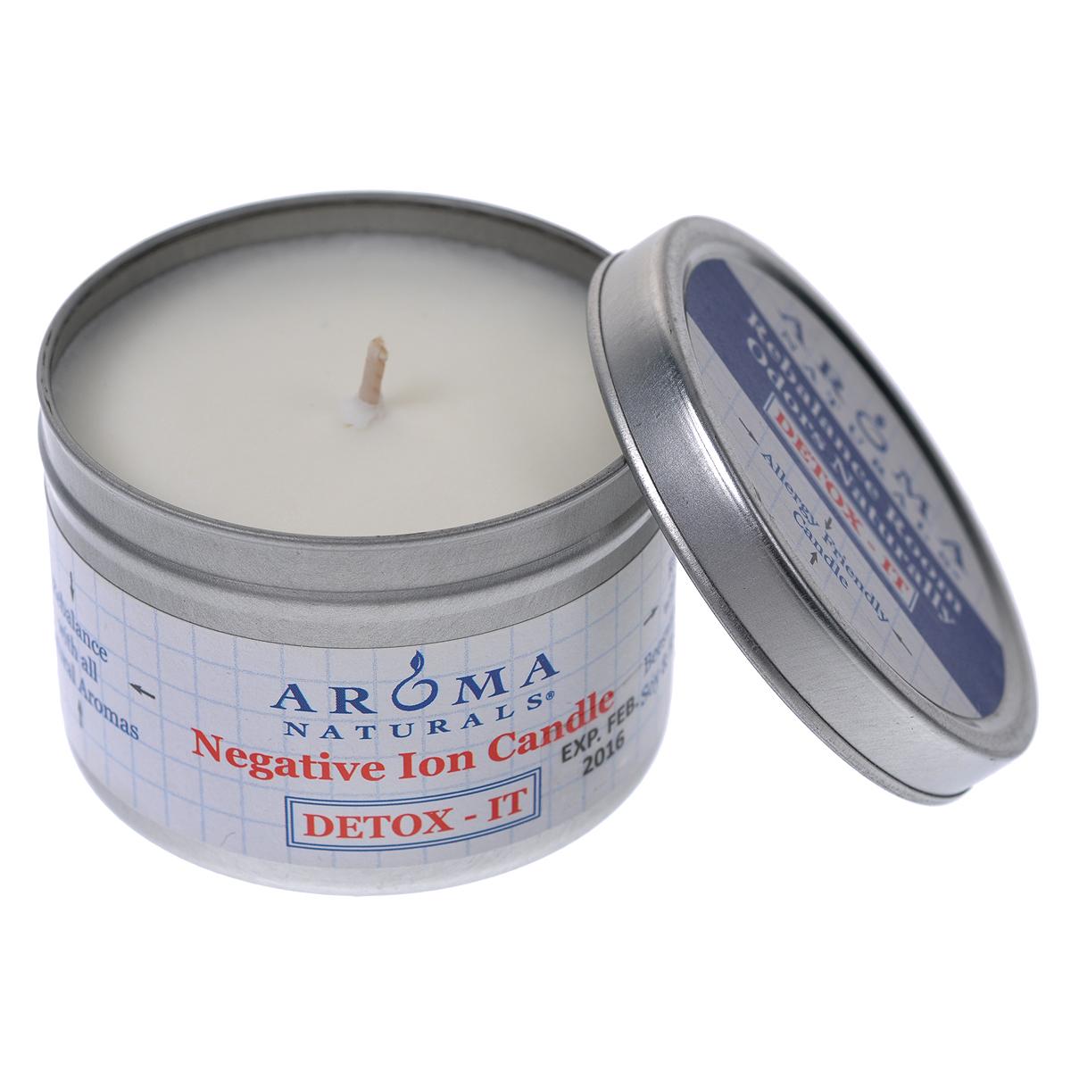 "Aroma Naturals Соевая свеча ""Детокс"", 80 г"
