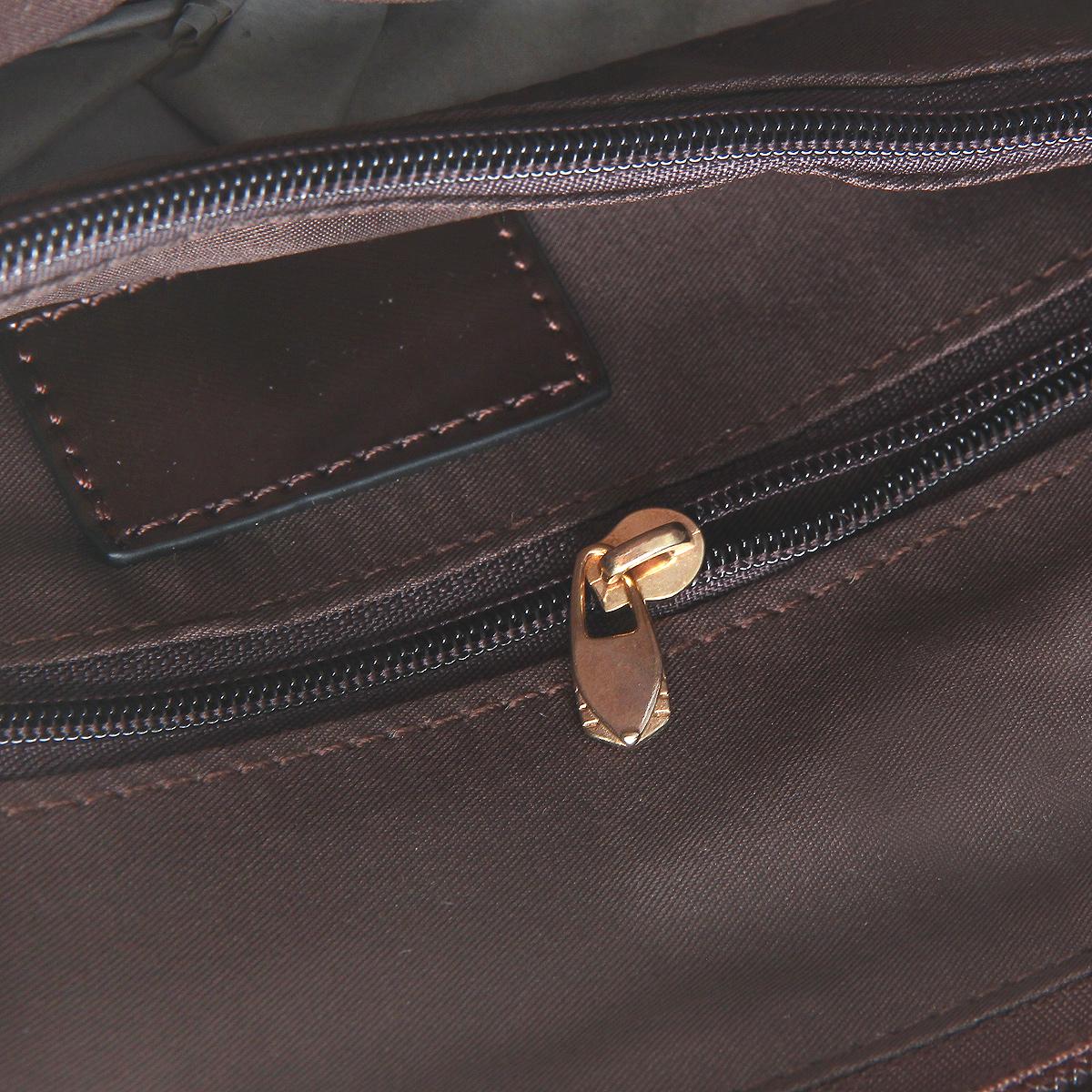 """Сумка женская """"Fancy bag """", цвет: коричневый. CM-6066-09 ( CM-6066-09 корич )"""