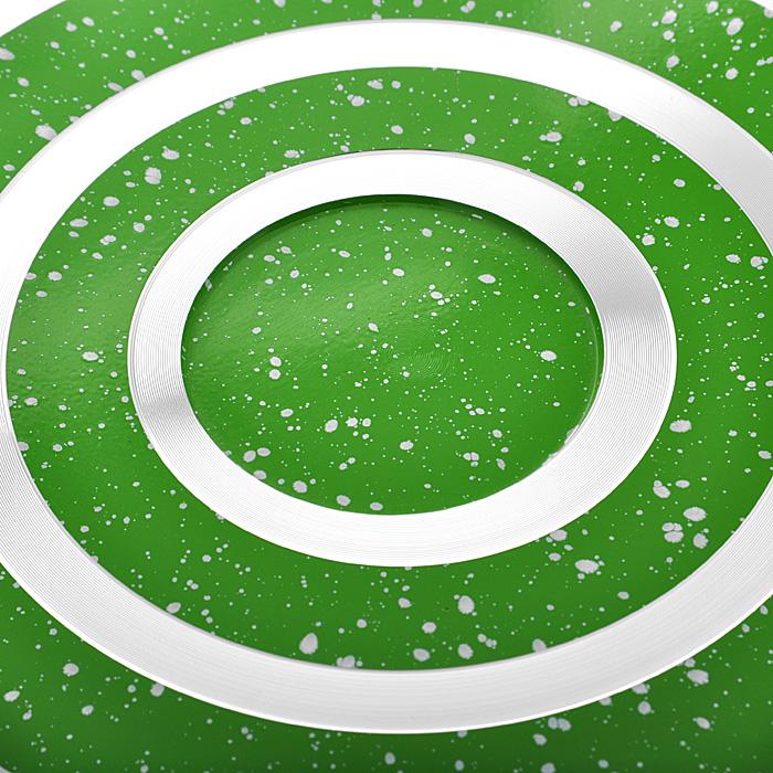 """Сковорода """"Mayer & Boch"""", с керамическим покрытием, цвет: салатовый. Диаметр 26 см. 22284"""