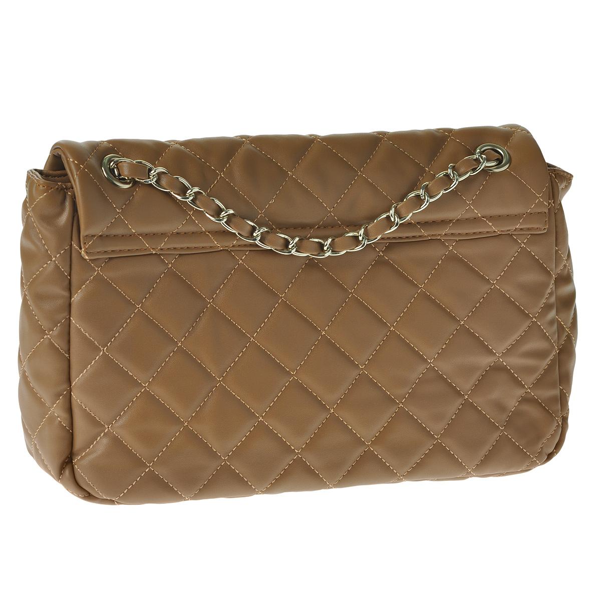 """Сумка женская """"Fancy bag"""", цвет: светло-коричневый. 1016-06 ( 1016-06 светл кор )"""