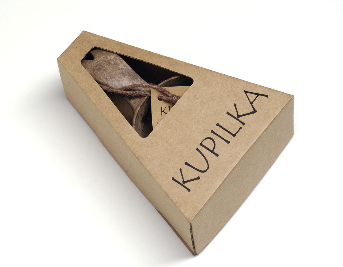 Набор: чашка+чайная ложка Kupilka, цвет: коричневый, объем чашки 210 мл