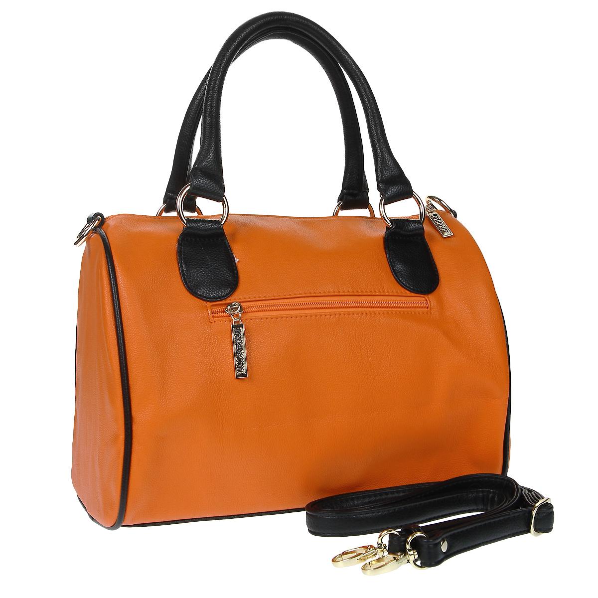 "Сумка женская ""Leighton"", цвет: оранжевый. 550429-200 ( 550429-200/51/200/1 )"