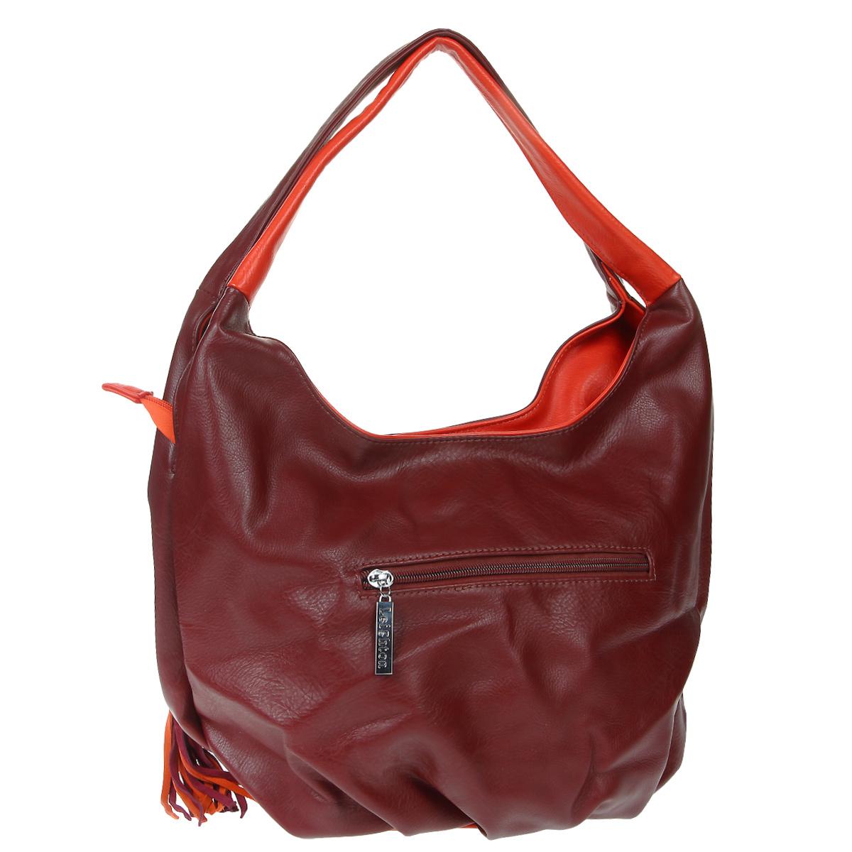 Сумка женская Leighton, цвет: бордовый. 76752-292 ( 76752-292/42/292/52/503/5 )