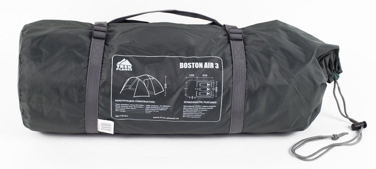 """Палатка Trek Planet """"Boston Air 3"""" трехместная ( 70184 )"""
