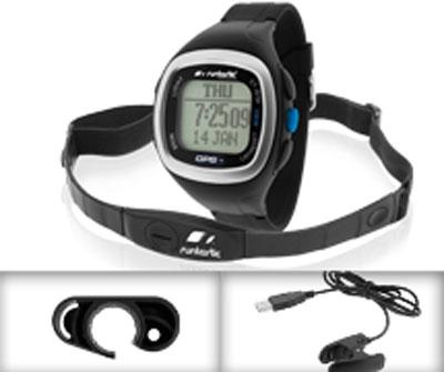 Кардиомонитор c GPS-датчиком Runtastic, цвет: черный
