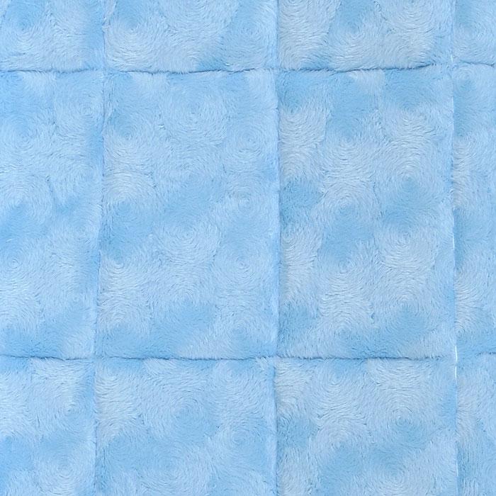 """Лежанка для животных Midwest """"Quiet Time"""", цвет: голубой, 56 см х 33 см"""