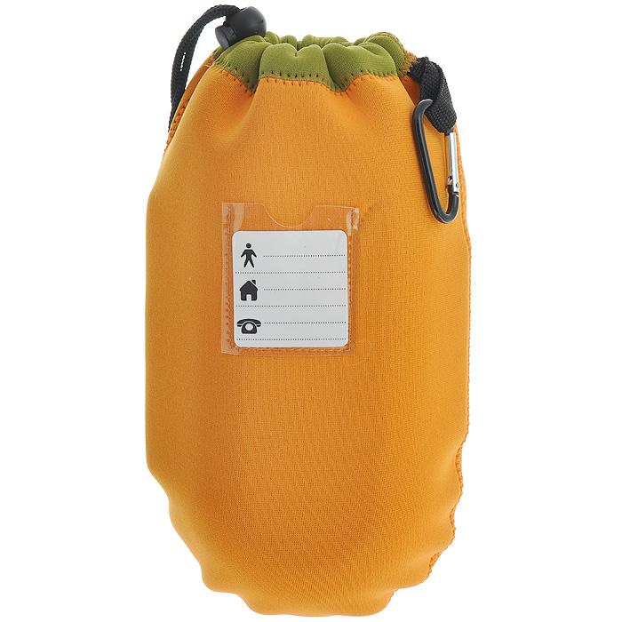 """Ланчбокс Iris Barcelona """"Nanni"""", с контейнерами и приборами, цвет: оранжевый"""