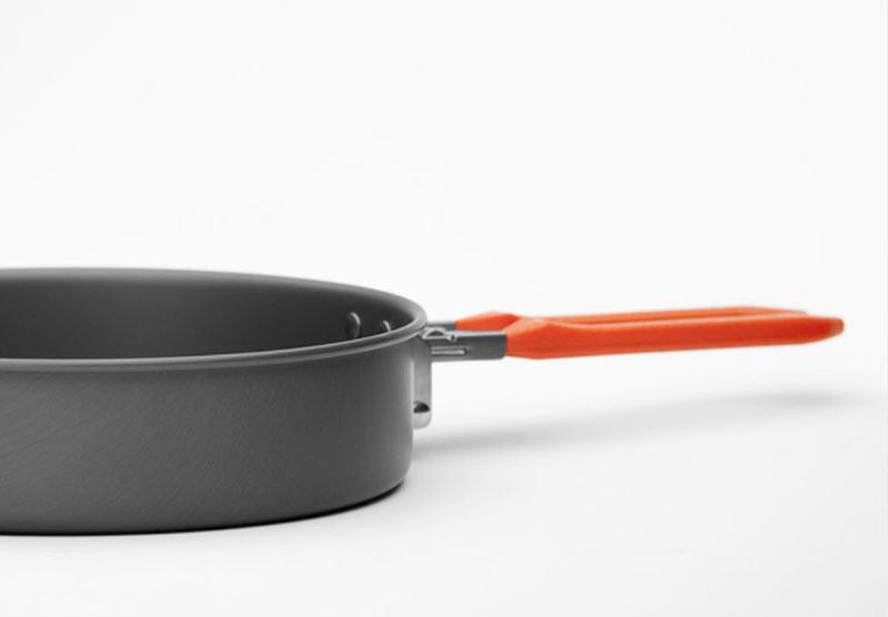 """Набор походной посуды Fire-Maple """"Feast 3"""", цвет: металлик, оранжевый, 7 предметов"""