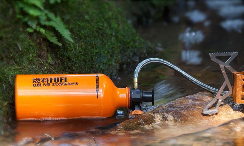 Емкость для топлива Fire-Maple, алюминиевая, 0.75 л. FMS-B750