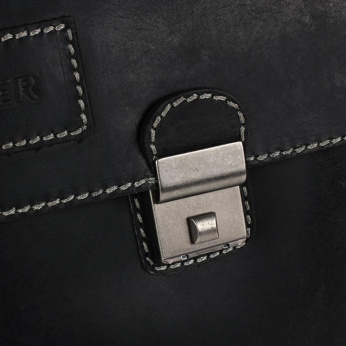 """Портфель мужской Wenger """"Arizona"""", с кодовыми замками, цвет: серый. W23-07Bl ( W23-07Bl )"""