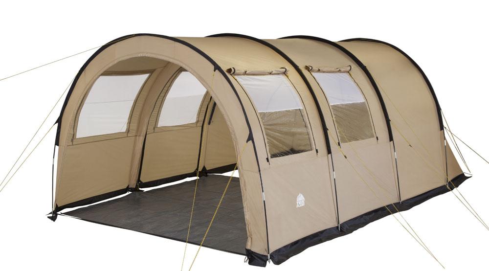 """Палатка четырехместная TREK PLANET """"Vario 4"""", цвет: песочный ( 70247 )"""