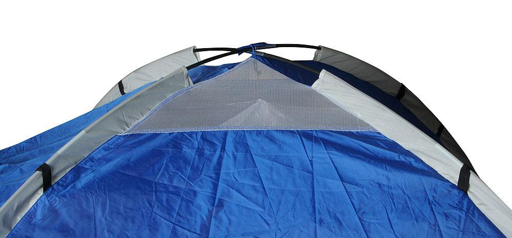 """Палатка """"Nevada Plus"""", двуслойная, цвет: синий"""